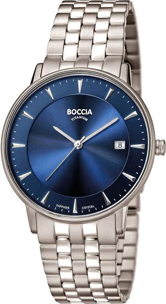 цена Мужские часы Boccia Titanium 3607-03 онлайн в 2017 году