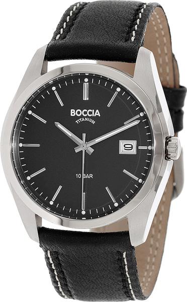 цена Мужские часы Boccia Titanium 3608-02 онлайн в 2017 году