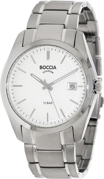 цена Мужские часы Boccia Titanium 3608-03 онлайн в 2017 году