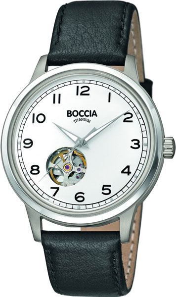 цена Мужские часы Boccia Titanium 3613-01 онлайн в 2017 году