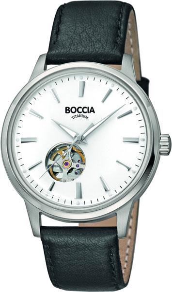 цена Мужские часы Boccia Titanium 3613-02 онлайн в 2017 году