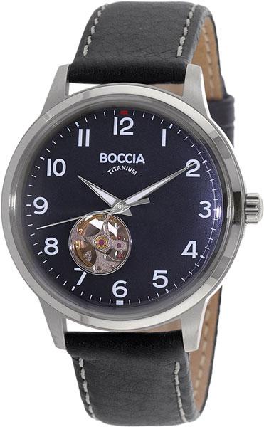 цена Мужские часы Boccia Titanium 3613-03 онлайн в 2017 году