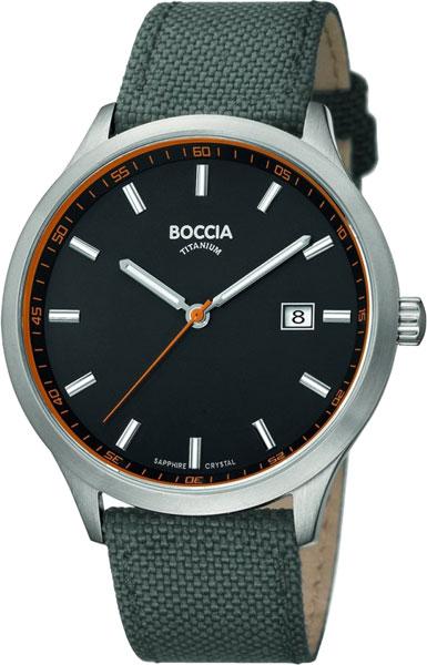 Мужские часы Boccia Titanium 3614-01 наручные часы boccia 3559 01