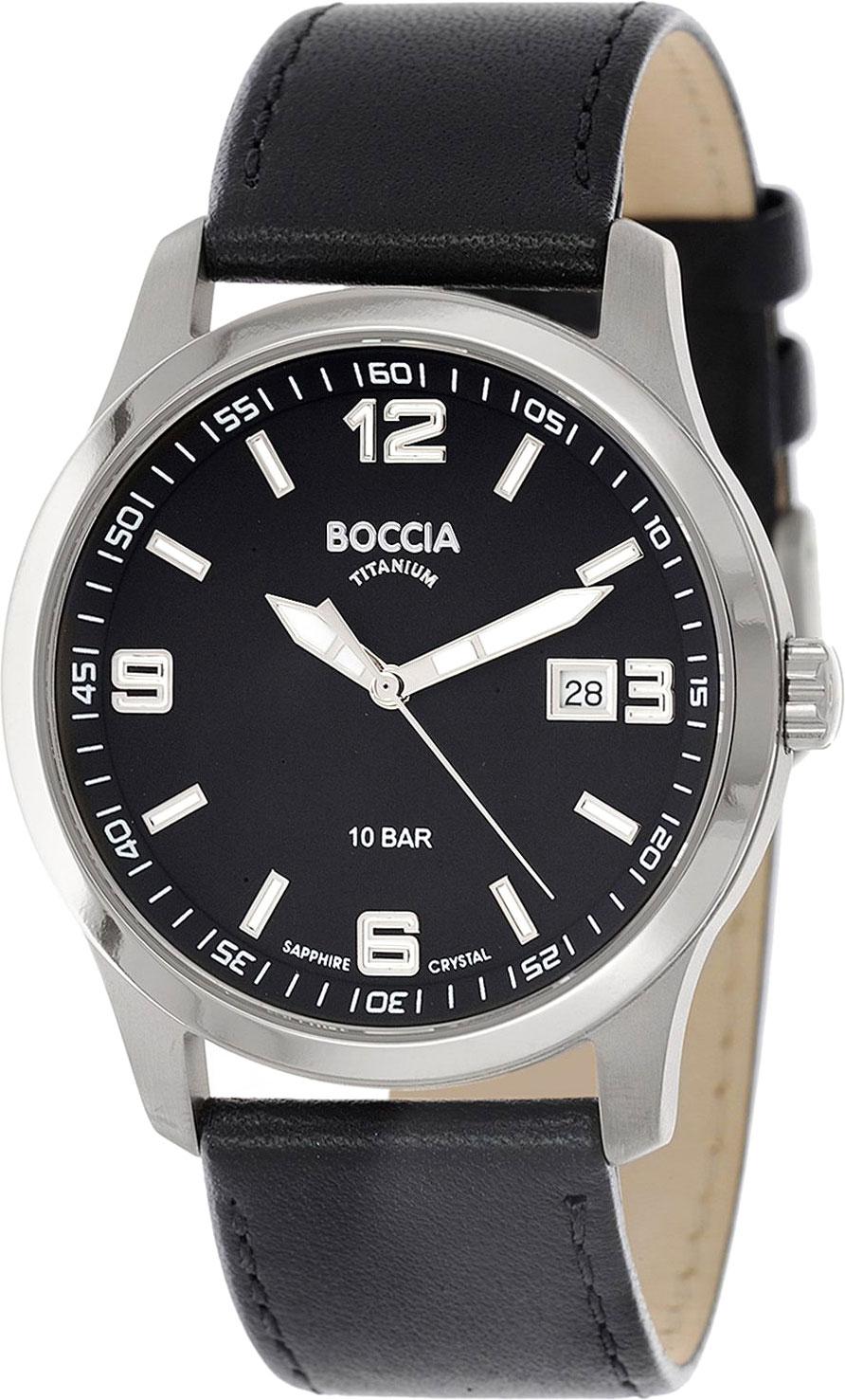Мужские часы Boccia Titanium 3626-02 все цены