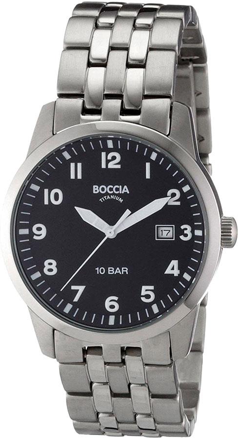 лучшая цена Мужские часы Boccia Titanium 3631-02