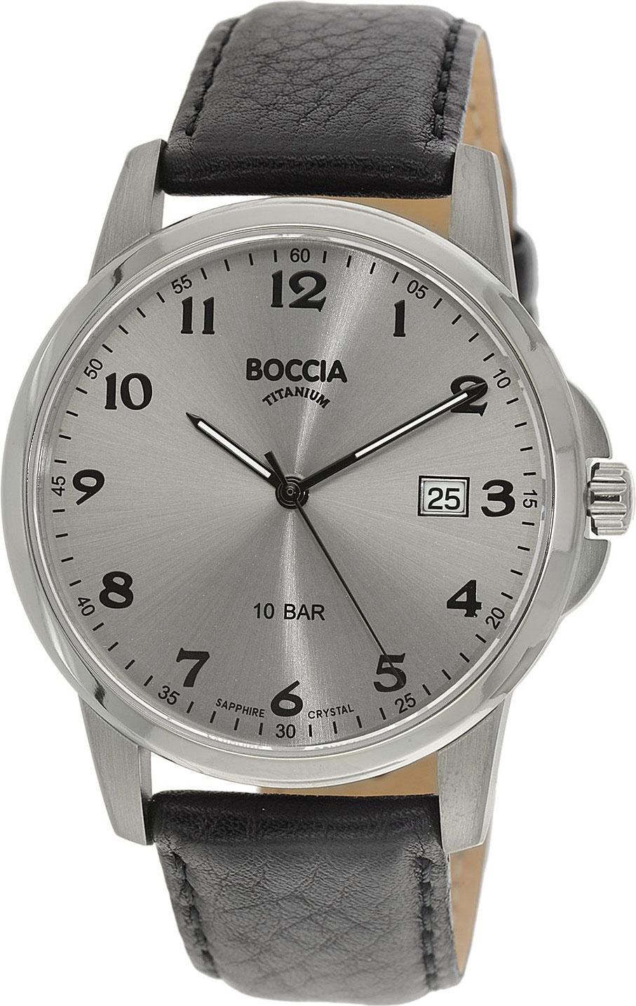 Мужские часы Boccia Titanium 3633-03 цена и фото
