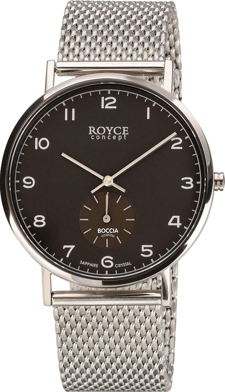 Фото - Мужские часы Boccia Titanium 3642-02 3642 j