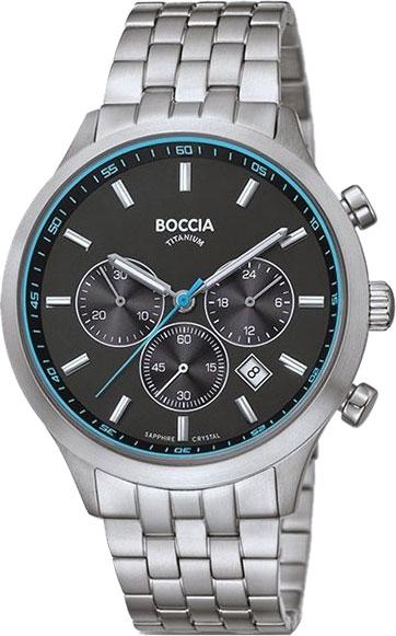 Мужские часы Boccia Titanium 3750-04 boccia bcc 3756 04