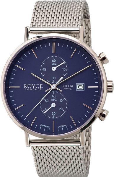 цена Мужские часы Boccia Titanium 3752-05 онлайн в 2017 году