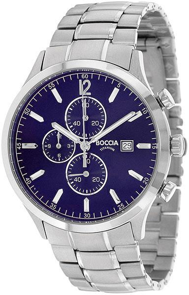 цена Мужские часы Boccia Titanium 3753-03 онлайн в 2017 году