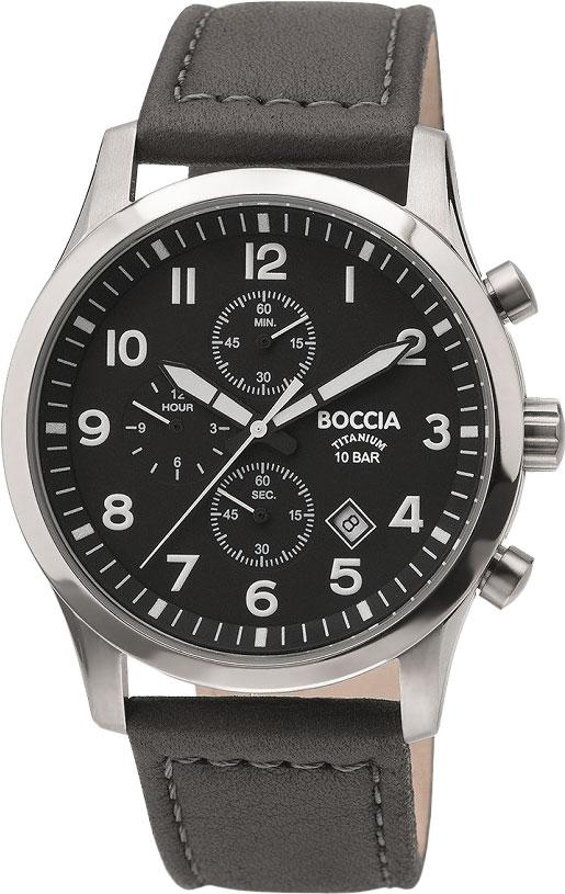где купить Мужские часы Boccia Titanium 3755-01 по лучшей цене