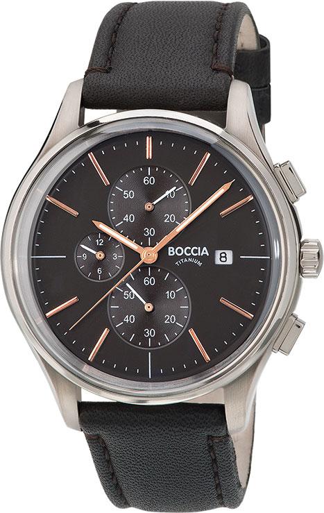 Мужские часы Boccia Titanium 3756-02 boccia bcc 3756 04
