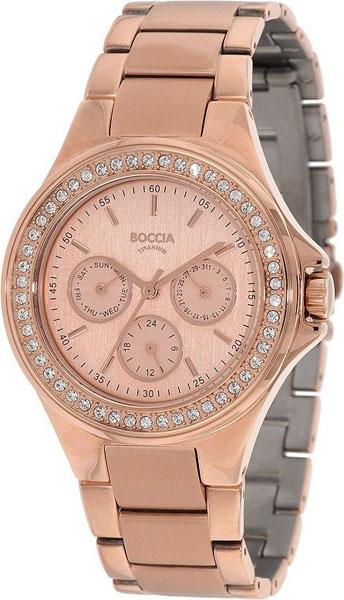 Женские часы Boccia Titanium 3758-02 женские часы boccia titanium 3758 01