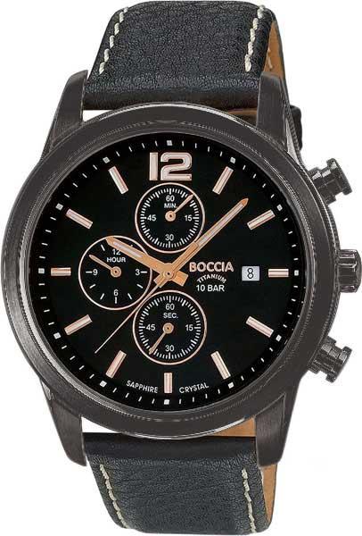 Мужские часы Boccia Titanium 3759-03 boccia bcc 3759 03