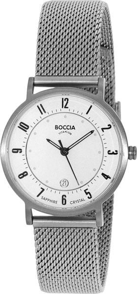 Женские часы Boccia Titanium 3154-07 boccia часы boccia 3154 07 коллекция superslim