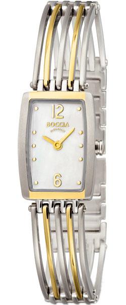 Женские часы Boccia Titanium 3187-02 boccia titanium 3187 01 boccia titanium