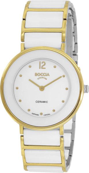 Купить Наручные часы 3209-02  Женские наручные немецкие часы в коллекции Circle-Oval Boccia Titanium