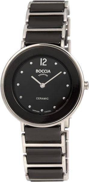 Женские часы Boccia Titanium 3209-03 boccia часы boccia 3209 03 коллекция ceramic