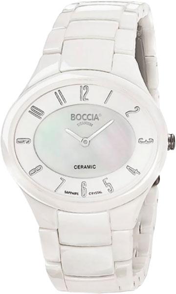 Женские часы Boccia Titanium 3216-01 наручные часы boccia 3216 02