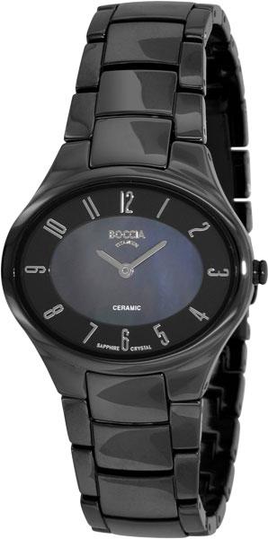 купить Женские часы Boccia Titanium 3216-02 по цене 14010 рублей