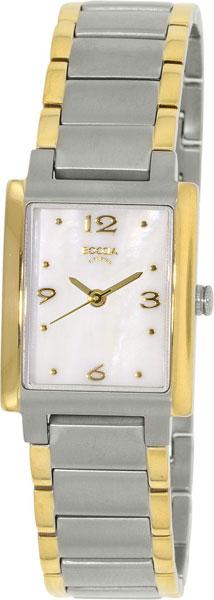 Купить Наручные часы 3220-02  Женские наручные немецкие часы в коллекции Rectangular Boccia Titanium