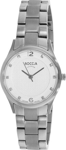 купить Женские часы Boccia Titanium 3227-02 по цене 8070 рублей