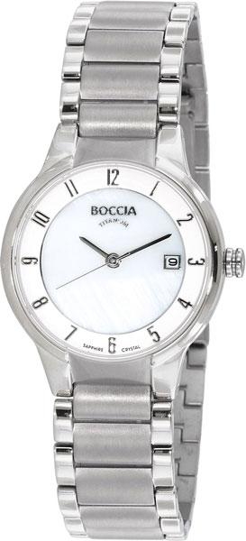 Женские часы Boccia Titanium 3228-01 браслет классика турквенит