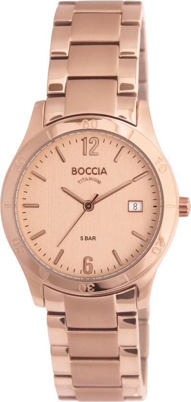 Купить Наручные часы 3234-02  Женские наручные немецкие часы в коллекции Circle-Oval Boccia Titanium