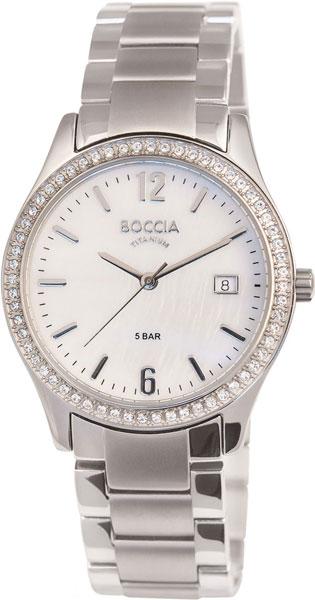 купить Женские часы Boccia Titanium 3235-02 по цене 8410 рублей