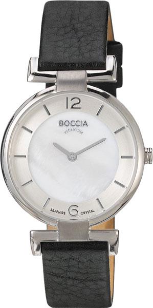 цена Женские часы Boccia Titanium 3238-01 онлайн в 2017 году