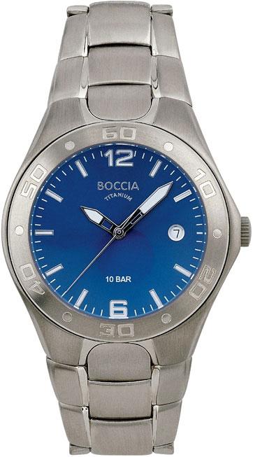 цена Мужские часы Boccia Titanium 3508-02 онлайн в 2017 году