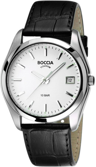 Мужские часы Boccia Titanium 3548-01 boccia часы boccia 3548 03 коллекция style