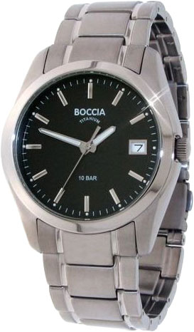 Мужские часы Boccia Titanium 3548-04 boccia часы boccia 3548 03 коллекция style