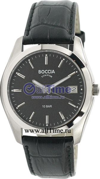 Мужские часы Boccia Titanium 3548-05 boccia часы boccia 3548 03 коллекция style
