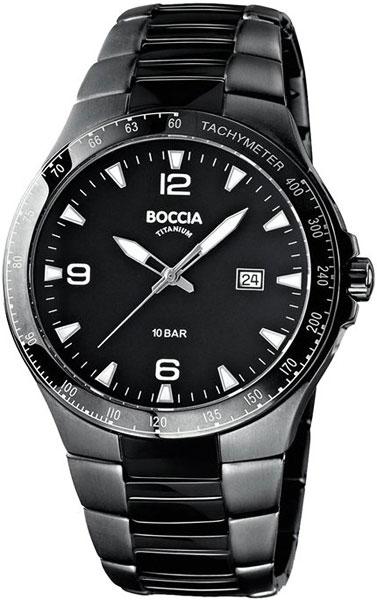 цена Мужские часы Boccia Titanium 3549-03 онлайн в 2017 году