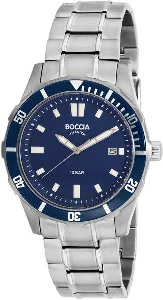 Мужские часы Boccia Titanium 3567-04 ноутбук dell inspiron 3567 3567 7698 3567 7698