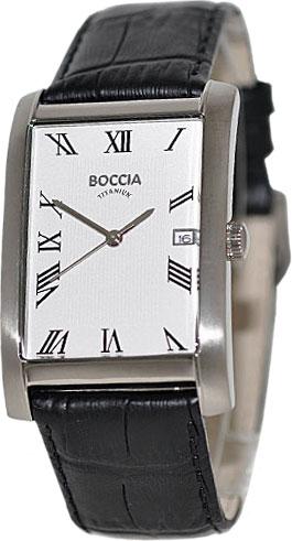 Мужские наручные часы в коллекции Rectangular Boccia Titanium AllTime.RU 4360.000