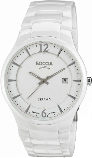 Мужские часы Boccia Titanium 3572-01 boccia bcc 3572 01