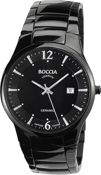 Мужские часы Boccia Titanium 3572-02 boccia bcc 3572 01