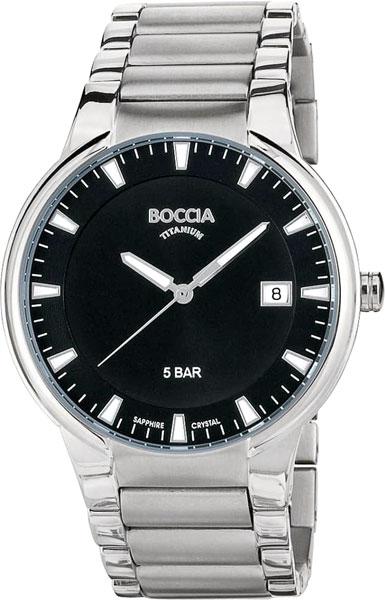 Мужские часы Boccia Titanium 3576-01 мужские часы boccia titanium 3592 01