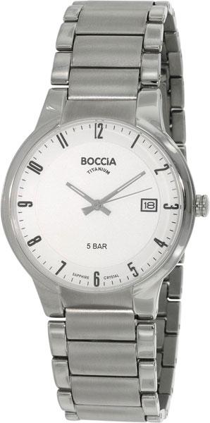 Мужские часы Boccia Titanium 3576-02 мужские часы boccia titanium 3576 02