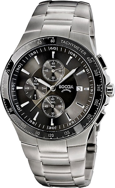 где купить Мужские часы Boccia Titanium 3773-01 по лучшей цене