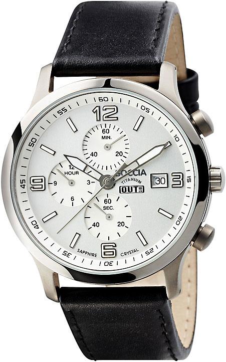цена Мужские часы Boccia Titanium 3776-02 онлайн в 2017 году