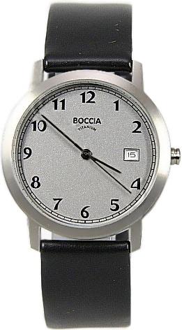 цена Мужские часы Boccia Titanium 510-92 онлайн в 2017 году