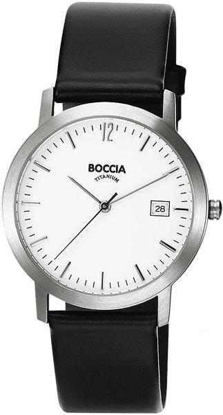 цена Мужские часы Boccia Titanium 510-93 онлайн в 2017 году