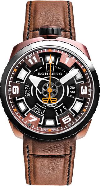 Мужские часы Bomberg BS45APBRBA.045-2.3