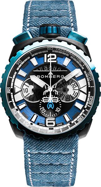 Мужские часы Bomberg BS45CHPBLGM.050-3.3