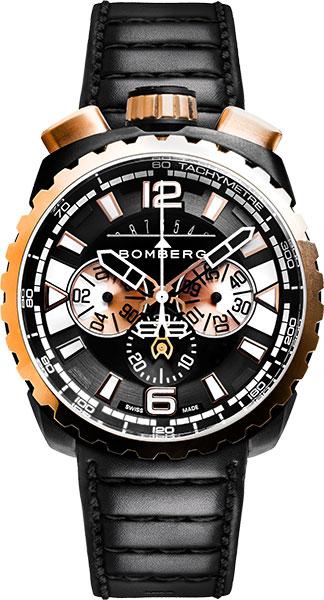 Мужские часы Bomberg BS45CHPPKBA.050-1.3