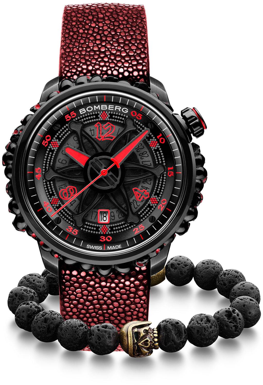 Швейцарские мужские часы в коллекции BB-01 Мужские часы Bomberg CT43APBA.25-2.11 фото
