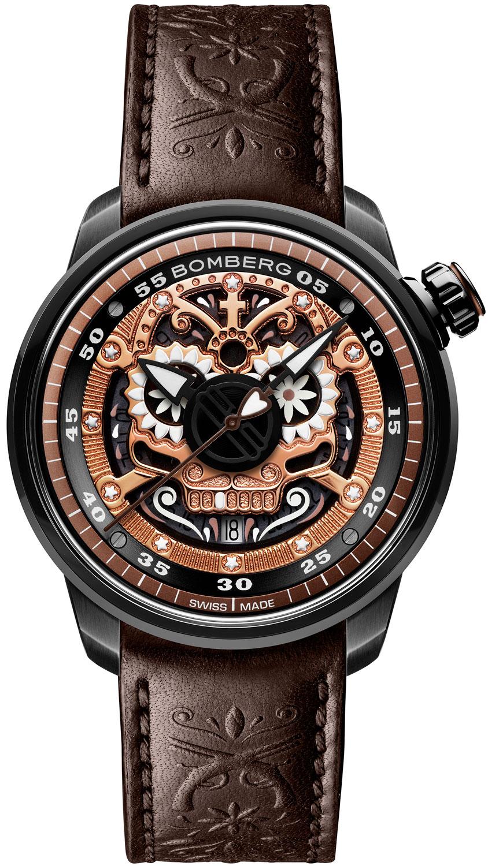 Мужские часы Bomberg CT43ASPGD.24-1.11